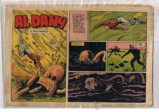 AL DANY Nº 4. EL ÍDOLO MALÉFICO. CLIPER 1953. (Tebeos y Comics - Cliper - Otros)