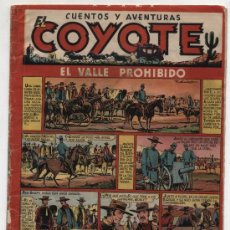 Tebeos: EL COYOTE Nº 13. EDITORIAL CLIPER 1947.. Lote 24854697