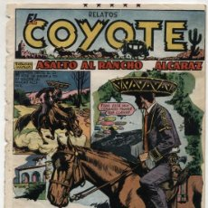 Tebeos: EL COYOTE Nº 96. EDITORIAL CLIPER 1947.. Lote 24855826