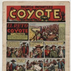Tebeos: EL COYOTE Nº 4. EDITORIAL CLIPER 1947.. Lote 24869223