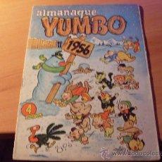 Tebeos: YUMBO ALMANAQUE 1956 ( ORIGINAL ED. CLIPER ) (C02) . Lote 26908152