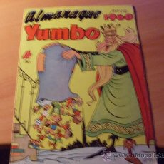Tebeos: YUMBO ALMANAQUE 1960 ( ORIGINAL ED. CLIPER ) (C02) . Lote 26908153