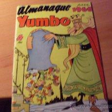 Tebeos: YUMBO ALMANAQUE 1960 ( ORIGINAL ED. CLIPER ) (C02) . Lote 25490373