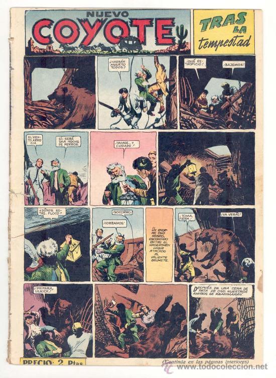 EL COYOTE Nº. 129, ORIGINAL (Tebeos y Comics - Cliper - El Coyote)