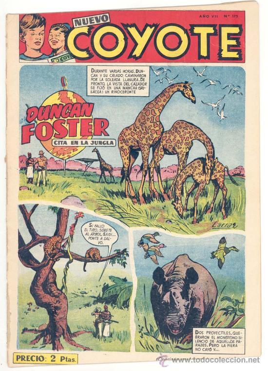 EL COYOTE Nº. 175, ORIGINAL (Tebeos y Comics - Cliper - El Coyote)