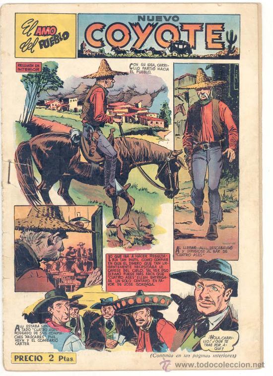 EL COYOTE Nº. 110, ORIGINAL (Tebeos y Comics - Cliper - El Coyote)