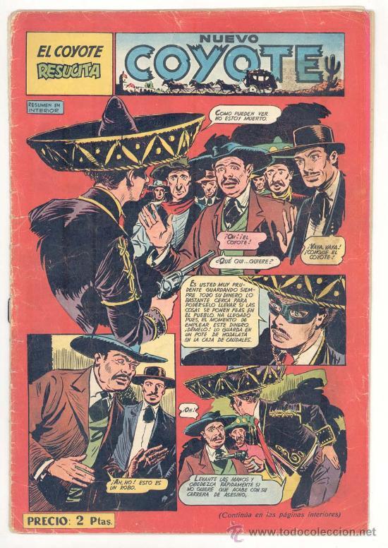 EL COYOTE Nº. 111, ORIGINAL (Tebeos y Comics - Cliper - El Coyote)