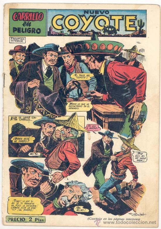 EL COYOTE Nº. 114, ORIGINAL (Tebeos y Comics - Cliper - El Coyote)