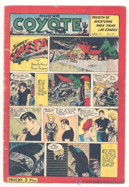 EL COYOTE Nº. 141, ORIGINAL (Tebeos y Comics - Cliper - El Coyote)