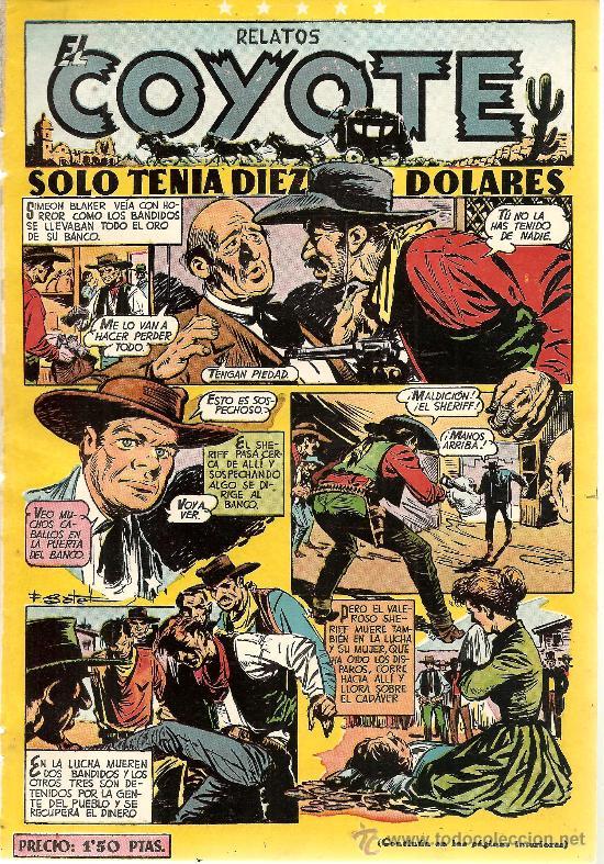 EL COYOTE Nº 99 CLIPER ORIGINAL (Tebeos y Comics - Cliper - El Coyote)