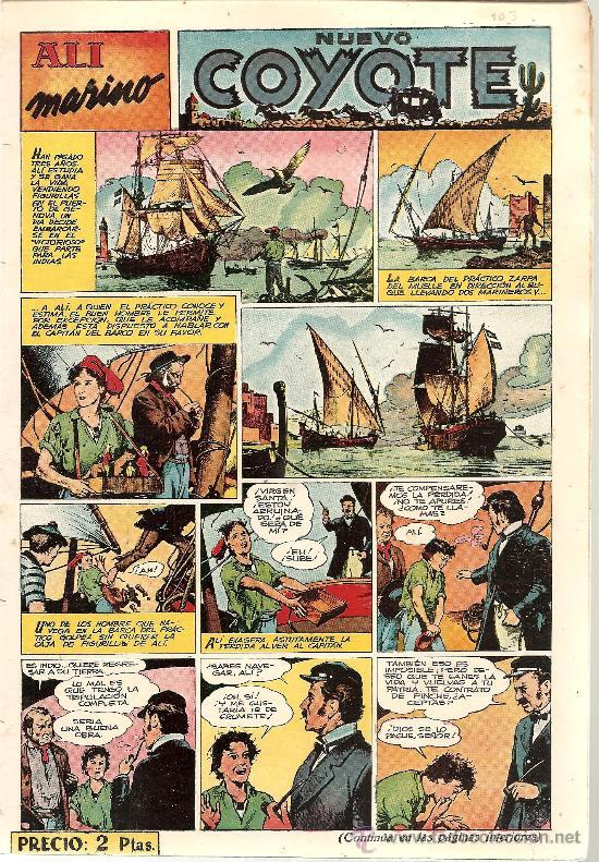 EL COYOTE Nº 103 CLIPER ORIGINAL (Tebeos y Comics - Cliper - El Coyote)