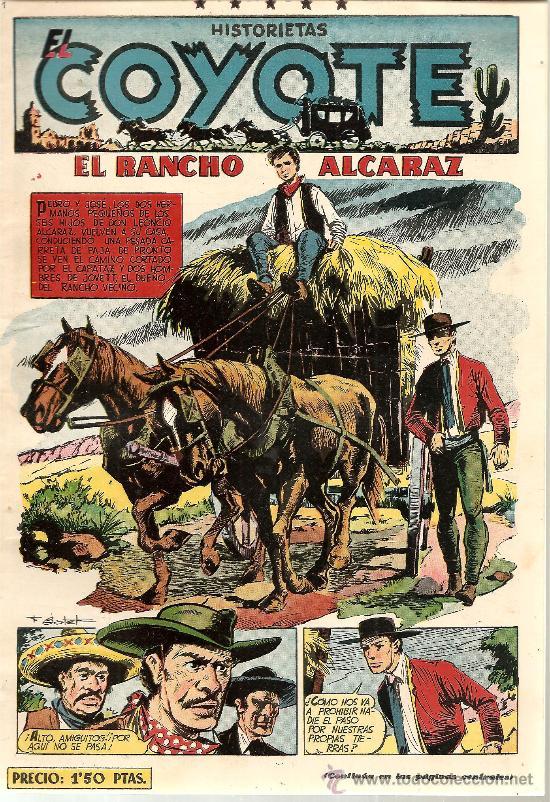 EL COYOTE Nº 93 CLIPER ORIGINAL (Tebeos y Comics - Cliper - El Coyote)