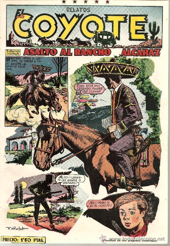 EL COYOTE Nº 96 CLIPER ORIGINAL (Tebeos y Comics - Cliper - El Coyote)