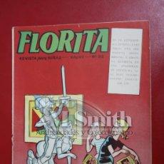 Tebeos: FLORITA: AÑO VI Nº 312 - EDICIONES CLIPER, DISTRIBUIDORES GERPLA. Lote 27375785