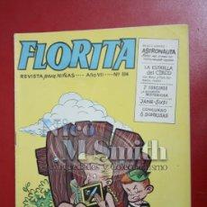 Tebeos: FLORITA: AÑO VII Nº 314 - EDICIONES CLIPER, DISTRIBUIDORES GERPLA. Lote 27375842