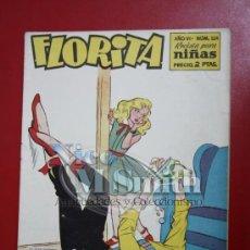 Tebeos: FLORITA: AÑO VI Nº 324 - EDICIONES CLIPER, DISTRIBUIDORES GERPLA. Lote 27376038
