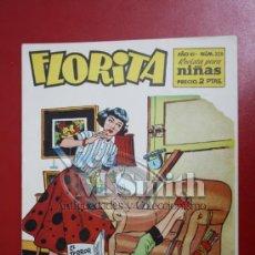 Tebeos: FLORITA: AÑO VI Nº 328 - EDICIONES CLIPER, DISTRIBUIDORES GERPLA. Lote 27376091