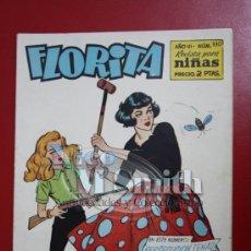 Tebeos: FLORITA: AÑO VI Nº 330 - EDICIONES CLIPER, DISTRIBUIDORES GERPLA. Lote 27376151