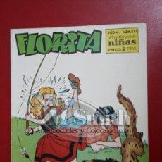 Tebeos: FLORITA: AÑO VI, Nº 332 - EDICIONES CLIPER, DISTRIBUIDORES GERPLA. Lote 27376184