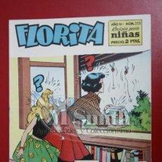 Tebeos: FLORITA: AÑO VI, Nº 333 - EDICIONES CLIPER, DISTRIBUIDORES GERPLA. Lote 27376203