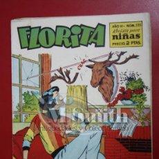 Tebeos: FLORITA: AÑO VI, Nº 335 - EDICIONES CLIPER, DISTRIBUIDORES GERPLA. Lote 27376243