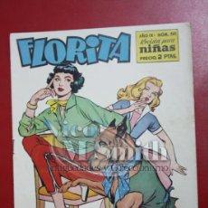 Tebeos: FLORITA: AÑO VI, Nº 341 - EDICIONES CLIPER, DISTRIBUIDORES GERPLA. Lote 27376358