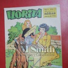 Tebeos: FLORITA: AÑO IX, Nº 343 - EDICIONES CLIPER, DISTRIBUIDORES GERPLA. Lote 27376449