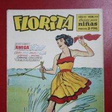 Tebeos: FLORITA: AÑO IX, Nº 348 - EDICIONES CLIPER, DISTRIBUIDORES GERPLA. Lote 27377024