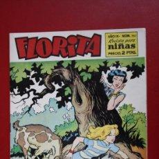 Tebeos: FLORITA: AÑO IX, Nº 350 - EDICIONES CLIPER, DISTRIBUIDORES GERPLA. Lote 27377089