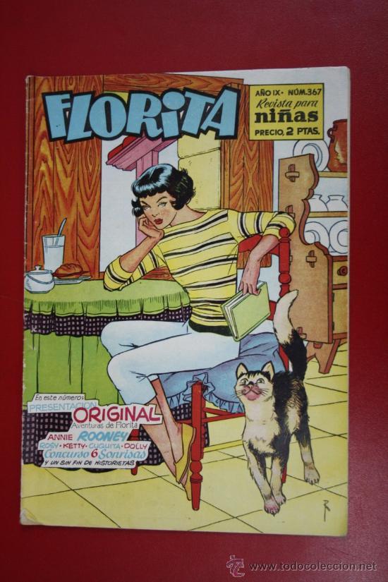 FLORITA: AÑO IX, Nº 367 - EDICIONES CLIPER, DISTRIBUIDORES GERPLA (Tebeos y Comics - Cliper - Florita)