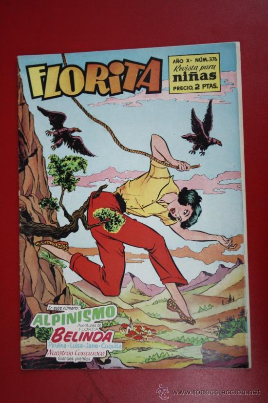 FLORITA: AÑO X, Nº 376 - EDICIONES CLIPER, DISTRIBUIDORES GERPLA (Tebeos y Comics - Cliper - Florita)