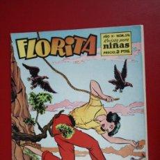 Tebeos: FLORITA: AÑO X, Nº 376 - EDICIONES CLIPER, DISTRIBUIDORES GERPLA. Lote 27377884