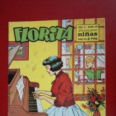 Tebeos: FLORITA: AÑO X, Nº 378 - EDICIONES CLIPER, DISTRIBUIDORES GERPLA. Lote 27377909