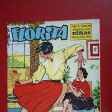 Livros de Banda Desenhada: RESERVADO - FLORITA: AÑO X, Nº 384 - EDICIONES CLIPER, DISTRIBUIDORES GERPLA. Lote 27378046