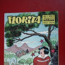 Livros de Banda Desenhada: RESERVADO - FLORITA: AÑO X, Nº 387 - EDICIONES CLIPER, DISTRIBUIDORES GERPLA. Lote 27378119