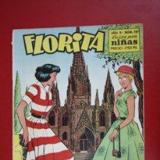 Livros de Banda Desenhada: RESERVADO - FLORITA: AÑO X, Nº 397 - EDICIONES CLIPER, DISTRIBUIDORES GERPLA. Lote 27378409