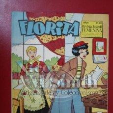 Tebeos: FLORITA: AÑO X, Nº 403 - EDICIONES CLIPER, DISTRIBUIDORES GERPLA. Lote 27379767