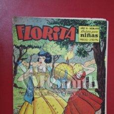 Livros de Banda Desenhada: RESERVADO - FLORITA: AÑO X, Nº 400 - EDICIONES CLIPER, DISTRIBUIDORES GERPLA. Lote 27379961