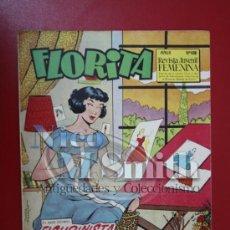 Livros de Banda Desenhada: RESERVADO - FLORITA: AÑO X, Nº 406 - EDICIONES CLIPER, DISTRIBUIDORES GERPLA. Lote 27380054