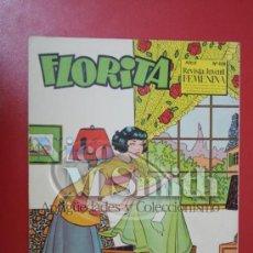 Tebeos: FLORITA: AÑO X, Nº 408 - EDICIONES CLIPER, DISTRIBUIDORES GERPLA. Lote 27380075
