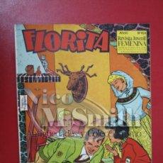 Tebeos: FLORITA: AÑO X, Nº 424 - EDICIONES CLIPER, DISTRIBUIDORES GERPLA. Lote 27380532