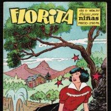 Tebeos: FLORITA. REVISTA PARA NIÑAS AÑO X Nº 387 - EDICIONES CLIPER. Lote 27553598