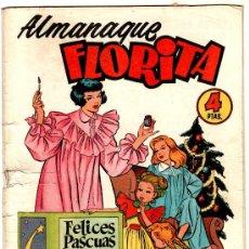Tebeos - FLORITA - ALMANAQUE 1955, EDI. CLIPER - 27771279