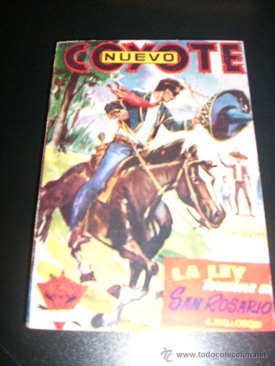 NUEVO COYOTE Nº 17 - LA LEY TERMINA EN SAN ROSARIO, POR J. MALLORQUÍ - CLIPER - ESPAÑA - COMO NUEVO! (Tebeos y Comics - Cliper - El Coyote)