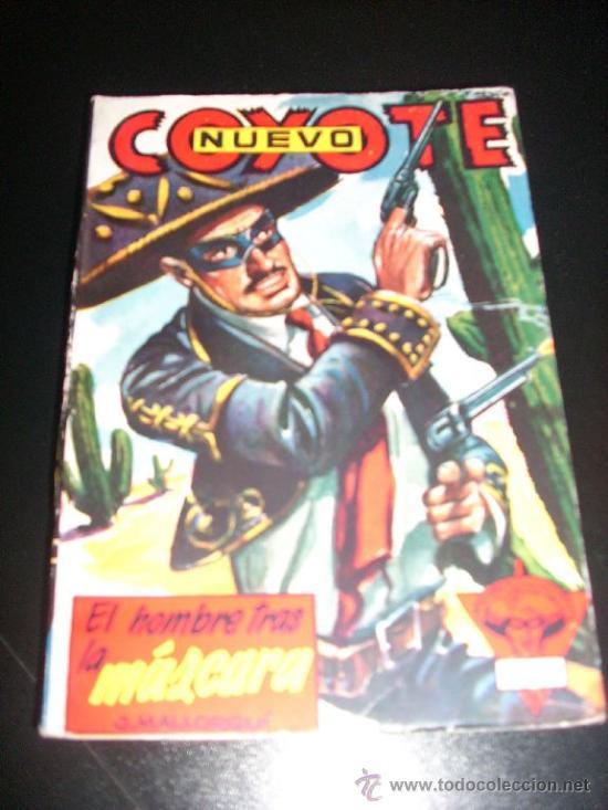 EL HOMBRE TRAS LA MASCARA, POR J. MALLORQUÍ - Nº 15 - NUEVO COYOTE - CLIPER - ESPAÑA (Tebeos y Comics - Cliper - El Coyote)