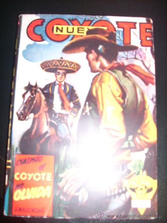 CUANDO EL COYOTE NO OLVIDA, POR J. MALLORQUÍ - Nº 13 - NUEVO COYOTE - CLIPER - ESPAÑA (Tebeos y Comics - Cliper - El Coyote)