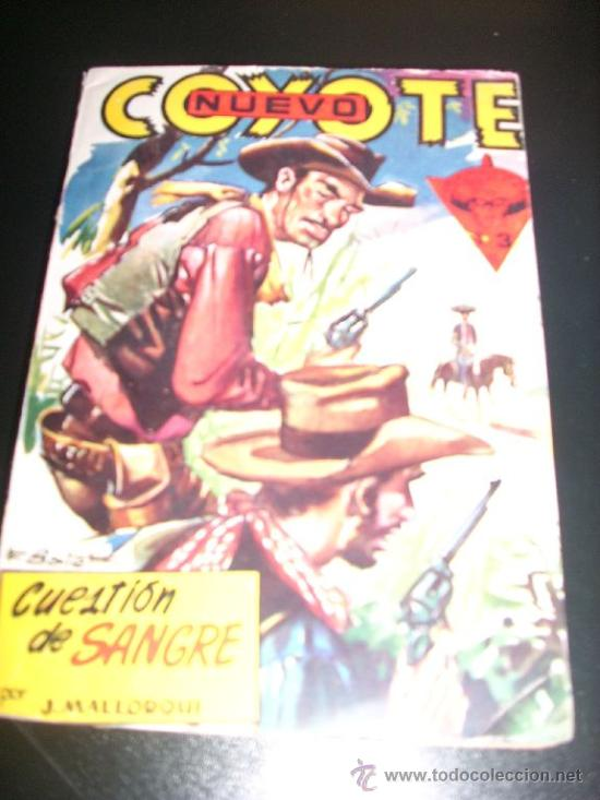 CUESTION DE SANGRE, POR J. MALLORQUÍ - Nº 12 - NUEVO COYOTE - CLIPER - ESPAÑA (Tebeos y Comics - Cliper - El Coyote)