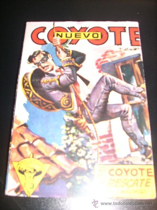 EL COYOTE AL RESCATE, POR J. MALLORQUÍ - Nº 11 - NUEVO COYOTE - CLIPER - ESPAÑA (Tebeos y Comics - Cliper - El Coyote)
