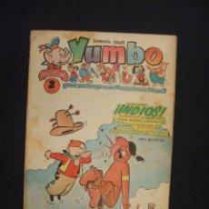 Tebeos: SEMANARIO INFANTIL - YUMBO - AÑO IV - Nº 170 - EDICIONES CLIPER -. Lote 28177549