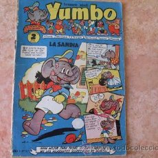 Tebeos: YUMBO,AÑO 1, Nº 13,EDITORIAL CLIPER,AÑO 1953. Lote 28203400
